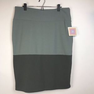 Lularoe Cassie Straight Knee Length Skirt